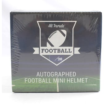 2021 Hit Parade Autographed Football Mini Helmet Hobby Box - Series 2 - Mahomes, L. Jackson, & K. Murray!!