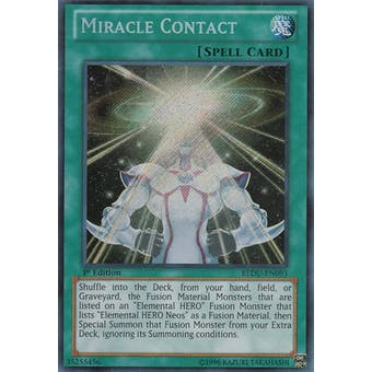 Yu-Gi-Oh Return of the Duelist Single Miracle Contact Secret Rare