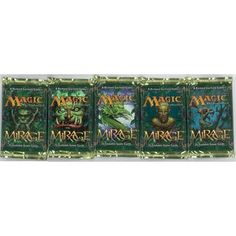 Magic the Gathering Mirage Booster Pack 5x LOT