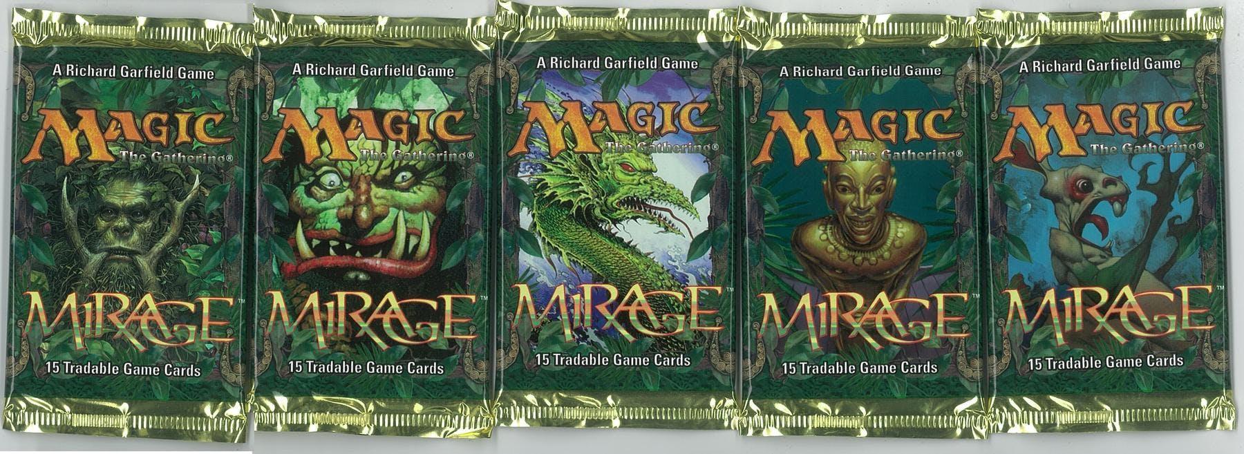 Magic the Gathering Mirage Booster Pack 5x LOT | DA Card World