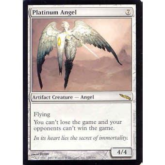 Magic the Gathering Mirrodin Single Platinum Angel - NEAR MINT (NM)