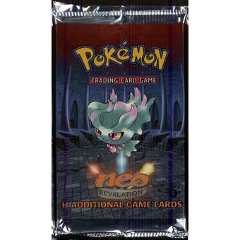 WOTC Pokemon Neo 3 Revelation 1st Edition Booster Pack MISDREAVUS Art UNWEIGHED