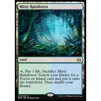 Magic the Gathering Modern Masters 2017 Single Misty Rainforest - NEAR MINT (NM)