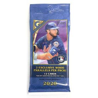 2020 Topps Gallery Baseball Jumbo Value 12-Card Pack (Lot of 12)