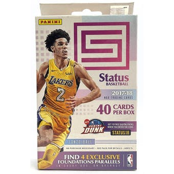 2017/18 Panini Status Basketball Hanger Box