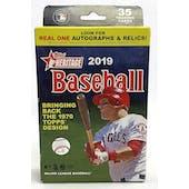 2019 Topps Heritage Baseball Hanger Box
