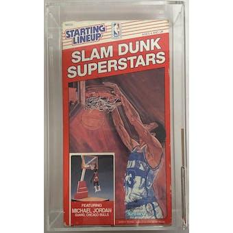 1989 Kenner Starting Lineup Slam Dunk Superstars Michael Jordan AFA 60 EX (Reed Buy)