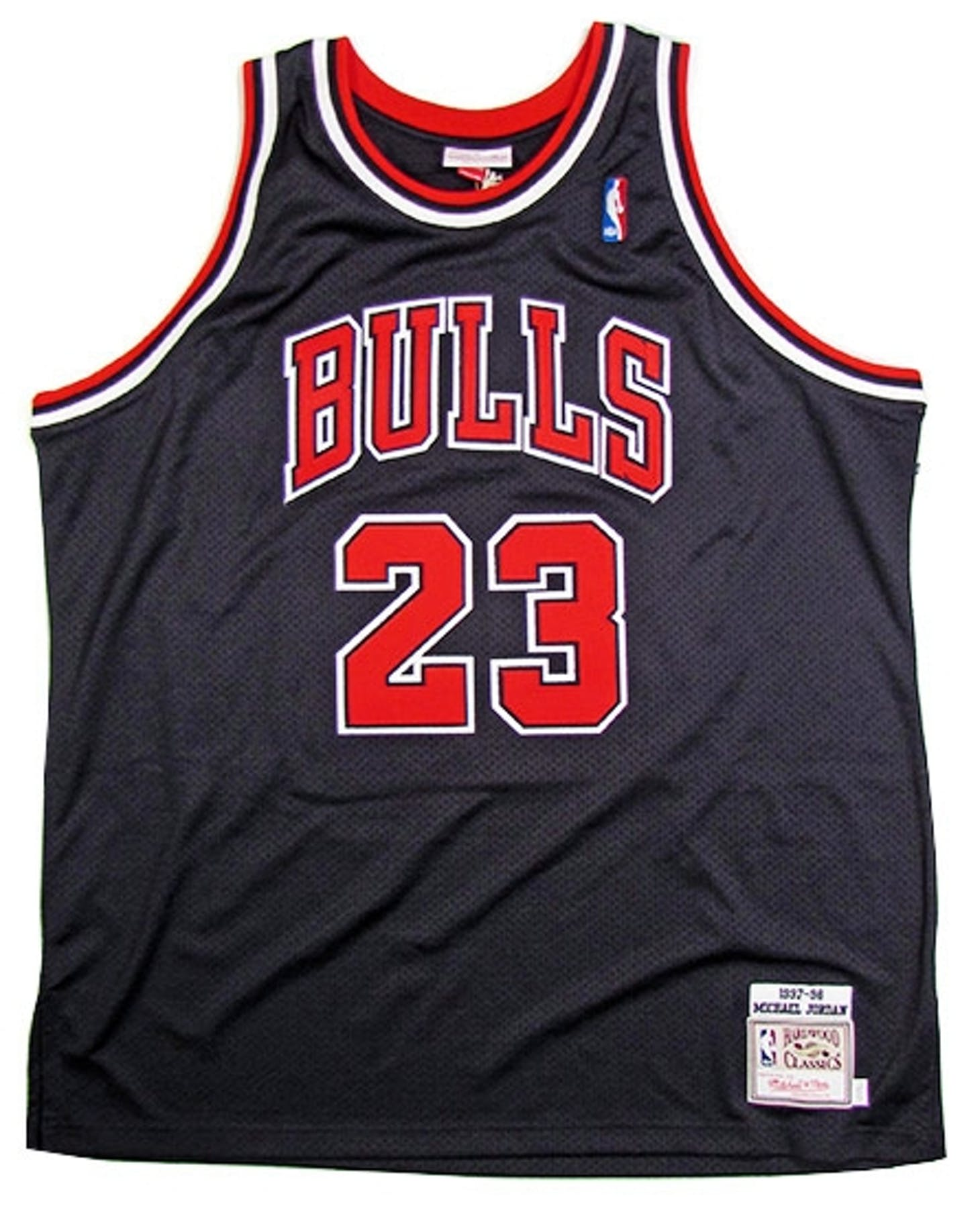 f702141e7dd ... Michael Jordan Autographed Chicago Bulls Black Authentic Basketball  Jersey (UDA COA) top design 73687 ...