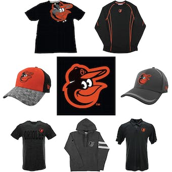 Baltimore Orioles Officially Licensed MLB Apparel Liquidation - 330+ Items, $16,700+ SRP!