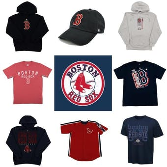 Boston Red Sox Officially Licensed MLB Apparel Liquidation - 650+ Items, $22,000+ SRP!