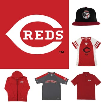 Cincinnati Reds Officially Licensed MLB Apparel Liquidation - 150+ Items, $9,500+ SRP!