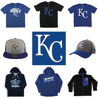 Kansas City Royals Officially Licensed MLB Apparel Liquidation - 310+ Items, $12,600+ SRP!