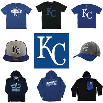 Kansas City Royals Officially Licensed MLB Apparel Liquidation - 310+ Items, $12,600+ SRP!