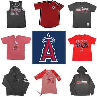 Los Angeles Angels Officially Licensed MLB Apparel Liquidation - 470+ Items, $24,000+ SRP!