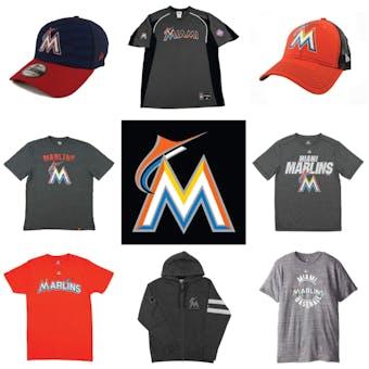 Miami Marlins Officially Licensed MLB Apparel Liquidation - 280+ Items, $12,600+ SRP!