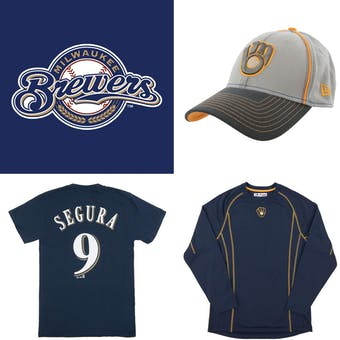 Milwaukee Brewers Officially Licensed MLB Apparel Liquidation - 230+ Items, $9,400+ SRP!