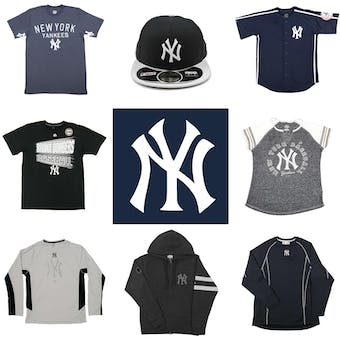 New York Yankees Officially Licensed MLB Apparel Liquidation - 640+ Items, $26,800+ SRP!