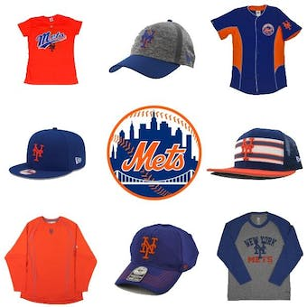New York Mets Officially Licensed MLB Apparel Liquidation - 280+ Items, $13,000+ SRP!