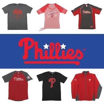 Philadelphia Phillies Officially Licensed MLB Apparel Liquidation - 410+ Items, $14,000+ SRP!