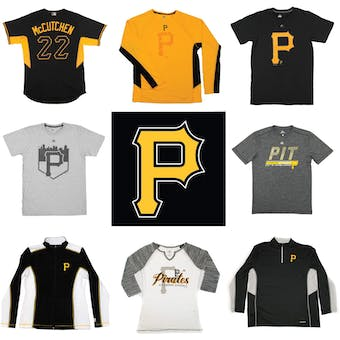 Pittsburgh Pirates Officially Licensed MLB Apparel Liquidation - 340+ Items, $20,000+ SRP!