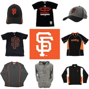 San Francisco Giants Officially Licensed MLB Apparel Liquidation - 360+ Items, $19,500+ SRP!