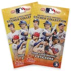 Image for  2x 2020 Topps Baseball MLB Sticker Collection Pack