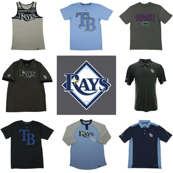 Tampa Bay Rays Officially Licensed MLB Apparel Liquidation - 1,590+ Items, $55,000+ SRP!