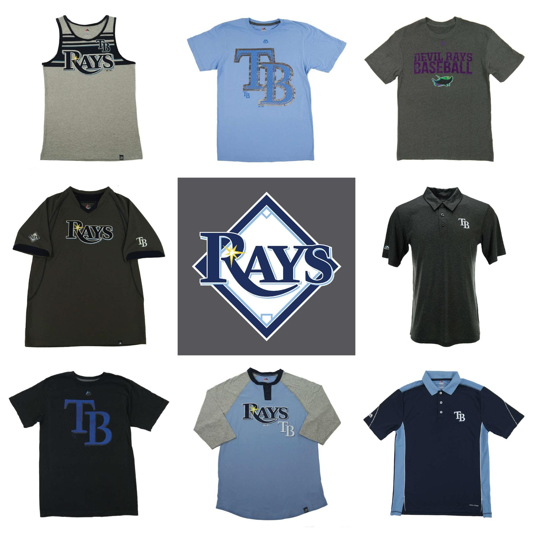 watch 6f85d 716ff Tampa Bay Rays Officially Licensed MLB Apparel Liquidation - 1,590+ Items,  $55,000+ SRP!
