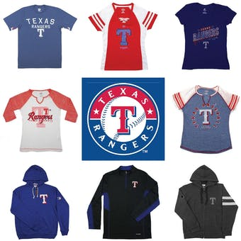 Texas Rangers Officially Licensed MLB Apparel Liquidation - 550+ Items, $26,000+ SRP!