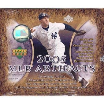 2005 Upper Deck Artifacts Baseball Hobby Box