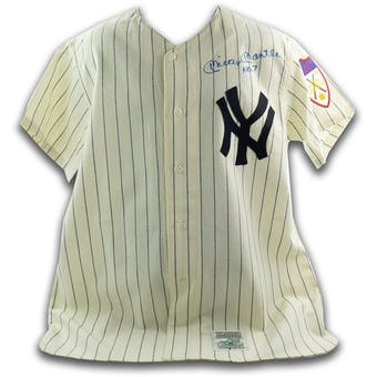 Mickey Mantle Autographed 1951 New York Yankees Mitchell and Ness Jersey (No. 7) JSA BB28698 (Reed Buy)