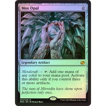 Magic the Gathering Modern Masters 2015 Edition Single Mox Opal Foil NEAR MINT (NM)