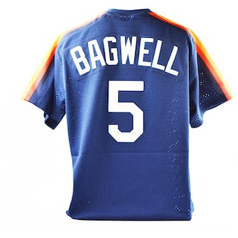 Jeff Bagwell Mitchell & Ness Astros Jersey - Size L Navy