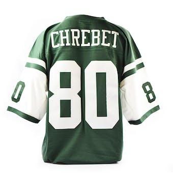 Wayne Chrebet Mitchell & Ness Jersey New York Jets Size XL Green