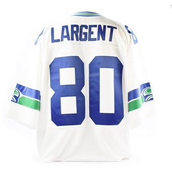 Steve Largent Mitchell & Ness Jersey Seattle SIZE XXL White