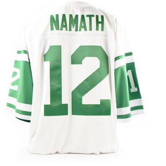 Joe Namath Mitchell & Ness Jersey Jets Size XXL