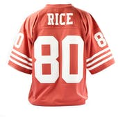 Jerry Rice Mitchell & Ness Jersey 49ers Size L Red