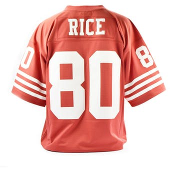 Jerry Rice Mitchell & Ness Jersey 49ers Size XXL Red