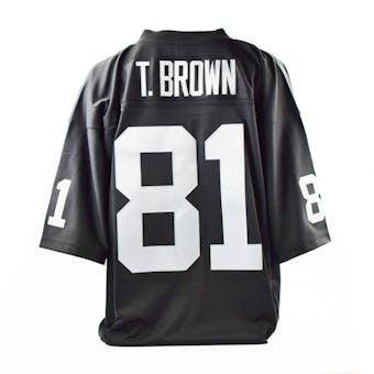 Tim Brown Mitchell & Ness Jersey Oakland Raiders Size XXL Black