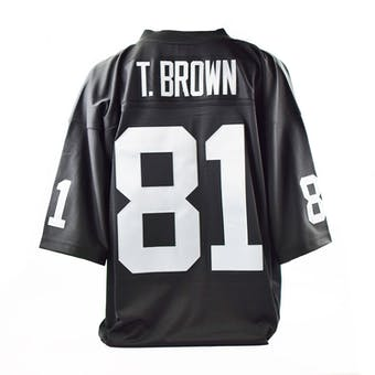 Tim Brown Mitchell & Ness Jersey Oakland Raiders Size XL Black