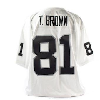 Tim Brown Mitchell & Ness Jersey Oakland Raiders Size XL White