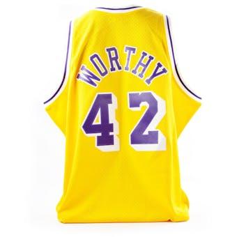 James Worthy Mitchell & Ness Jersey LA Lakers Jersey Size XXL