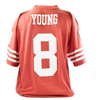 Steve Young Mitchell & Ness Jersey Red San Francisco 49ERS SIZE XL