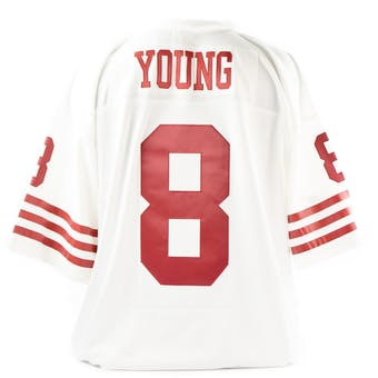 Steve Young Mitchell & Ness Jersey San Francisco 49ERS White SIZE XL