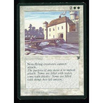 Magic the Gathering Legends Single Moat - SLIGHT PLAY minus (SP-)