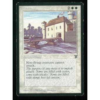 Magic the Gathering Legends Single Moat - MODERATE PLAY (MP)