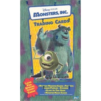 Monsters, Inc. Hobby Box (2001 Topps)