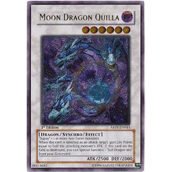 Yu-Gi-Oh Absolute Powerforce 1st Ed. Single Moon Dragon Quilla Ultimate Rare