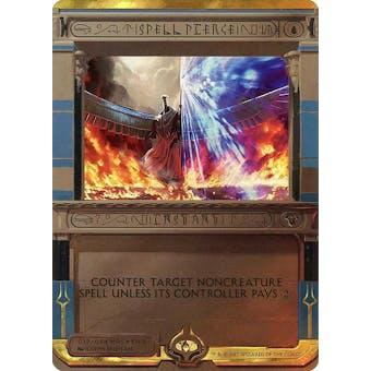 Magic the Gathering Amonkhet Invocation Single Spell Pierce FOIL - NEAR MINT (NM)
