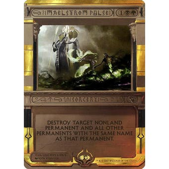 Magic the Gathering Amonkhet Invocation Single Maelstrom Pulse FOIL - NEAR MINT (NM)